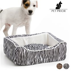 Pet Prior Hundebett (45 x 35 cm) Zebra