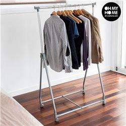 Portemanteau Pliable Mobile pour Vêtements