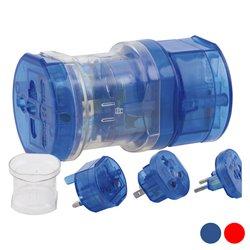 Adaptador para Tomadas 143086 Azul