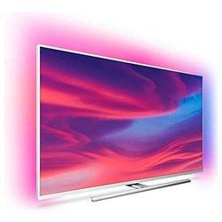 "Smart TV Philips 55PUS7354 55"" 4K Ultra HD LED WiFi Ambilight Argentato"