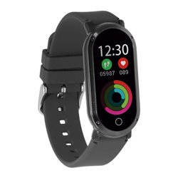 "Orologi Sportivi Fitness Band HR3 0,96"" TFT Bluetooth Nero"