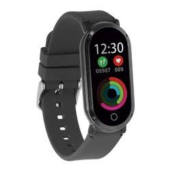 "Orologi Sportivi Fitness Band HR3 0,96"" TFT Bluetooth Nero"