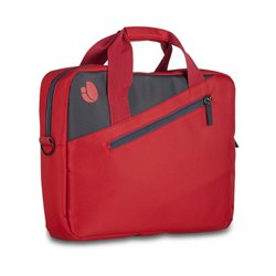 """Valigetta per Portatile NGS Ginger Red GINGERRED 15,6"""" Rosso Antracite"""