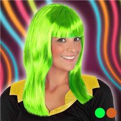 Parrucca Neon 119701 Verde