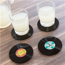 Sottobicchieri Disc (Pacco da 4)