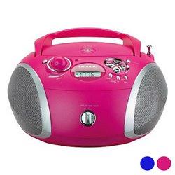 Radio CD MP3 Grundig GDP6310 CD-R/CD-RW FM USB 3W Rosa