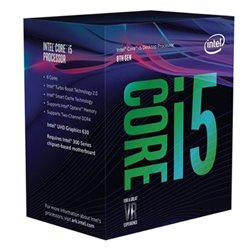 Processore Intel Intel® Core™ i5-8400 Processor BX80684I58400 Intel Core i5 8400 2,8 Ghz 9 MB LGA 1151 BOX
