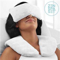 Set Zen Spa (Cuscino + Salviette Rinfrescanti)   Freddo e Caldo