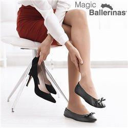 Sabrinas Magic Ballerinas Sapatos de Bailarina Preto S