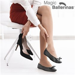 Ballerines Magic Flats Magic Ballerinas Noir S