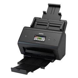 Scanner Wi-Fi/Rete Fronte Retro Brother ADS-3600 50 ppm 1200 dpi LAN WiFi Nero