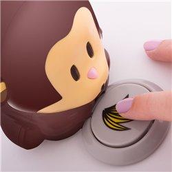Secador de Unhas Portátil em forma de Macaco