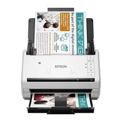 Scanner Fronte Retro Epson WorkForce DS-570W 600 dpi WIFI LAN Bianco