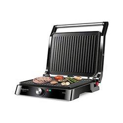 Grill a Contatto Taurus Etna Inox 2200W Nero