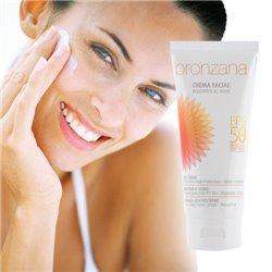 Crema Solar Facial FPS +50 Bronzana