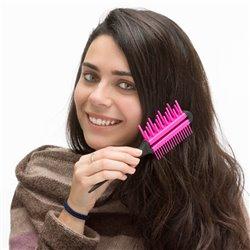 Brosse à Cheveux Triple Action