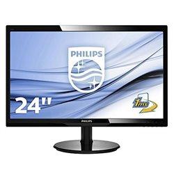 "Philips 246V5LHAB Monitor 24"" Led 16:9 5ms MM HDMI"