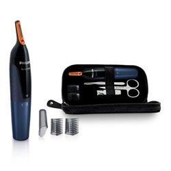 Philips NOSETRIMMER Series 5000 Rifinitore per naso confortevole e set manicure NT5180/15