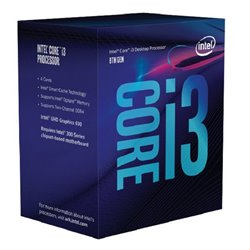 Processore Intel Intel® Core™ i3-8100 Processor BX80684I38100 Intel Core i3 8100 3,6 Ghz 6 MB LGA 1151 BOX