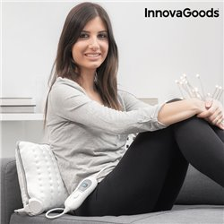 InnovaGoods Heated Electric Pillow 40 x 30 cm 100W White