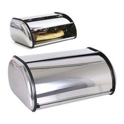 Portapane Privilege Con coperchio Metallo 35,5 x 23 x 14,5 cm