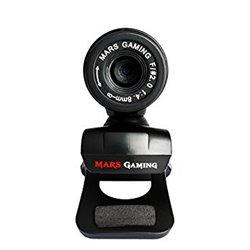 Webcam Gaming Tacens Mars MW1 HD 720p Clip Nero