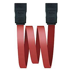 NANOCABLE Câble SATA 10.18.0101-OEM 0,5 m Rouge