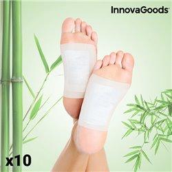 Patchs Détoxifiants pour les pieds InnovaGoods (Pack de 10)