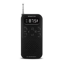 Radio Transistor BRIGMTON BT-127N 3W 800 mAh Nero