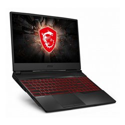 MSI Gaming portable computer GL65-286XES 15,6 i7-9750H 16 GB RAM 512 GB SSD Black
