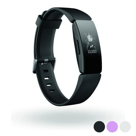Orologi Sportivi Fitbit Inspire HR OLED Bluetooth 4.0 Bianco