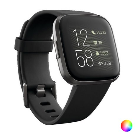 "Smartwatch Fitbit Versa 2 1,4"" AMOLED WiFi 165 mAh Nero"