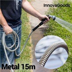 Manguera Metálica Irrompible InnovaGoods (15 m)