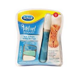 Scholl Lima Eletrónica de Unhas Velvet Smooth