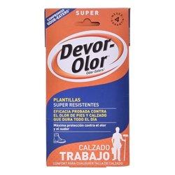"""Semelles désodorisantes Super Devor-olor """"2 uds"""""""