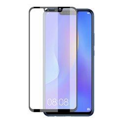 Protettore Schermo Vetro Temprato per Cellulare Huawei Mate 20 Lite KSIX Extreme 2.5D Negro