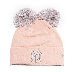 Cappello Ny Yankees New Era DOUBLE POM CUFF Rosa