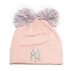 Cappello Ny Yankees New Era DOUBLE POM CUFF Rosa