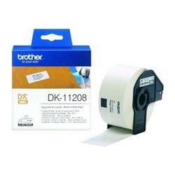 Etichette per Stampante Brother DK11208 38 x 90 mm Bianco