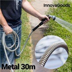 InnovaGoods Reißfester Metallschlauch (30 m)