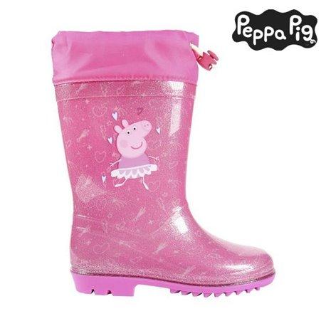 Stivali da pioggia per Bambini Peppa Pig Rosa 22