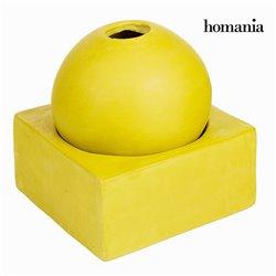 Candelabro Circular com Suporte Amarelo - Enchanted Forest Coleção by Homania