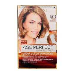 Permanent Anti-Ageing Dye Excellence Age Perfect L'Oreal Expert Professionnel Dark blonde
