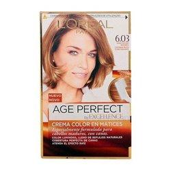 Teinture anti-âge permanente Excellence Age Perfect L'Oreal Expert Professionnel Blond foncé
