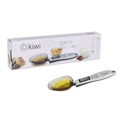 cucchiaio dosatore con bilancia digitale Kiwi KKS-1105 300 g Grigio