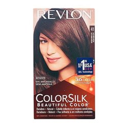 Teinture sans ammoniaque Colorsilk Revlon Marron