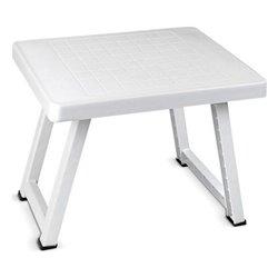 Tavolo Pieghevole Confortime (51 x 40 x 40 cm) Bianco