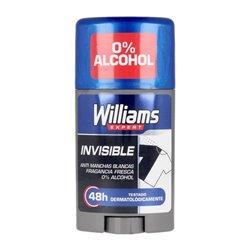Deodorante Stick Invisible Williams (75 ml)