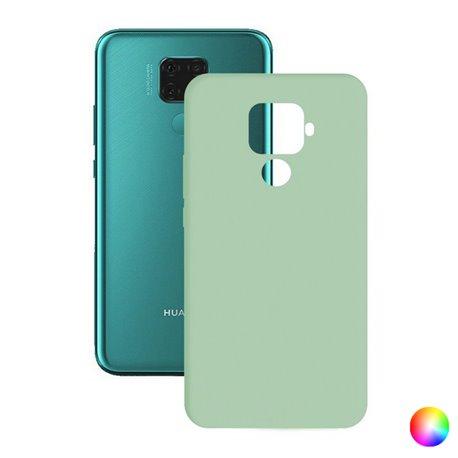 Custodia per Cellulare Huawei Mate 30 Lite Silk TPU Rosso