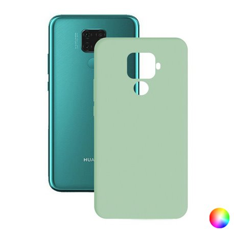 Custodia per Cellulare Huawei Mate 30 Lite Silk TPU Turchese